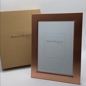 Reed & Barton Classic Rose Gold Frame 4X6